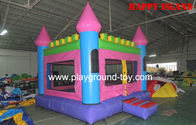 Best Indoor Kids Commercial Bounce Houses Castle With Slide For Kindergarden / Family Party RQL-00503 for sale