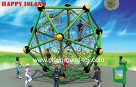 China Novel Design Kids Rope And Steel Outdoor Kids Climbing Wall Equipment distributor