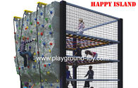 Best Vertical Outdoor Kids Climbing Equipment , Childrens Climbing Frames For Their Competition for sale