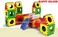 Best Combination Indoor Playground Kids Toys For Plastic Link Building Blocks Slide for sale