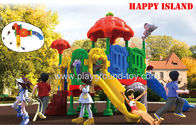 China Children Plastic Playground Kids Toys With Customized Design Free Available distributor
