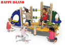 China Wooden Playgrounds for Entertainment  For Amusement Park EquipmentHotel Use distributor