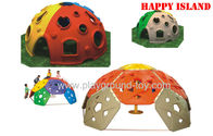 China Color Playground Kids Toys kids Plastic Hemisphere Rock Climbing Walls Shelf distributor