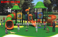 Best Kids Playground Equipment , Park Entertainment Machine Red Blue for sale
