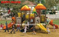 Best EN Standard Kids Outdoor Playground , Plastic Playground Equipment for sale