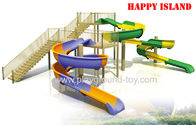 China Water Park Equipments ,  Common Dreamland Aqua Park Facility FRP High Speed distributor