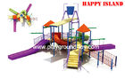 Best Outdoor Commercial Safe Fiberglass Water Park Equipments For Aqua Park for sale