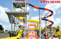 China Aqua Entertainment Water Park Equipments , Water Park Construction distributor