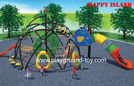 Best Kids Outdoor Climbing Frame,  Kids Climbing Equipment For Outdoor Play System With Visible Tunnel for sale