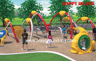 Best Large Amusement Park Kids Wooden Climbing Frames , Commercial Outdoor Playground for sale