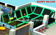 China Small Trampoline For Kids Indoor Outdoor Big PVC Jumping Bed For Kids In Amusement Park distributor