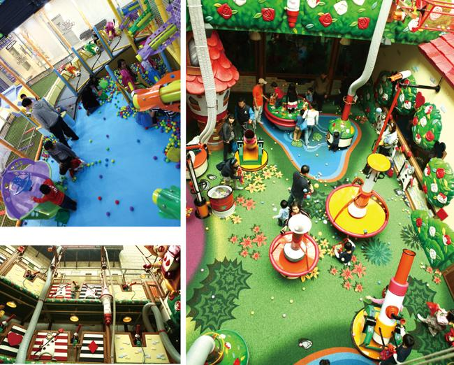 Factory Supply Children Natural Indoor Playground Equipment With GS CE SASO Certificates