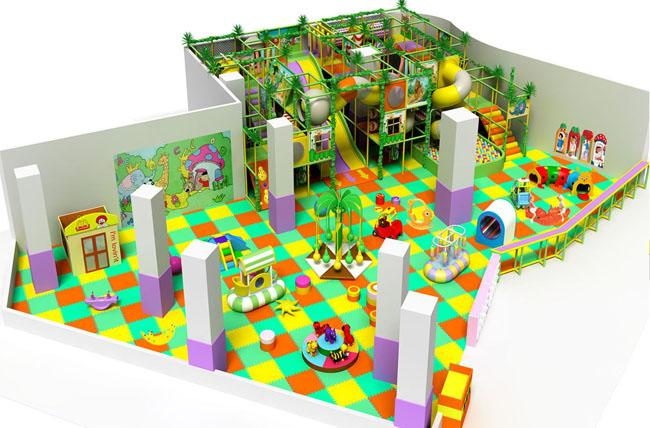 Indoor Toddler Playground Equipment Can Be Design To Your Irregular Area