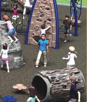 Climbing Playground Equipment For Outdoor By UV Resistance LLDPE Galvanized Steel