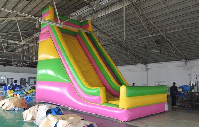0.55mm Polato PVC Inflatable Bounce Slide , Toddler Inflatable Water Slide RQL-00302