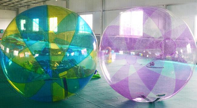 Funny Inflatable Sports Games ,  Inflatable Water Walking Ball 0.8mm PVC / TPU