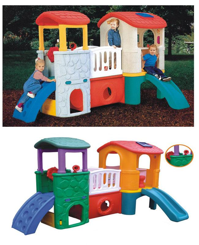 Safe Children Playground Kids Toys , Playground Kids Dolls For Outdoor Equipment Sets