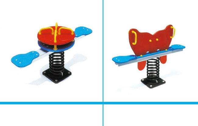 Two Seats  Playground Equipment Seesaw , Seesaw For Kids School