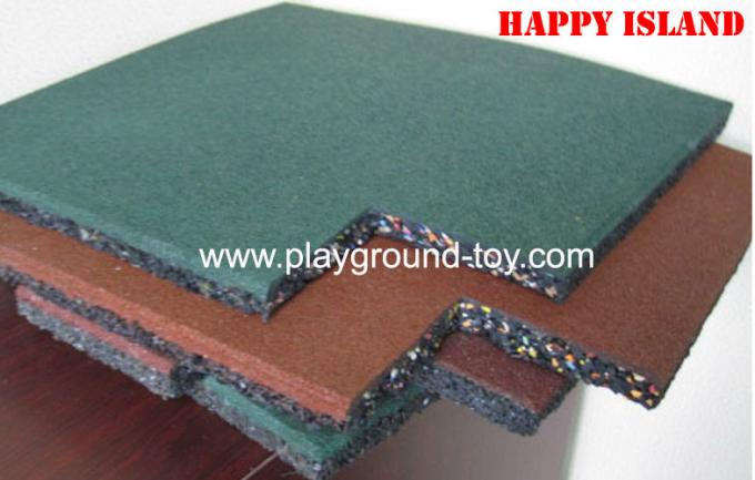 Different Size Or Thickness Outdoor Safe Playground Floor Mat For Park RYA-22906